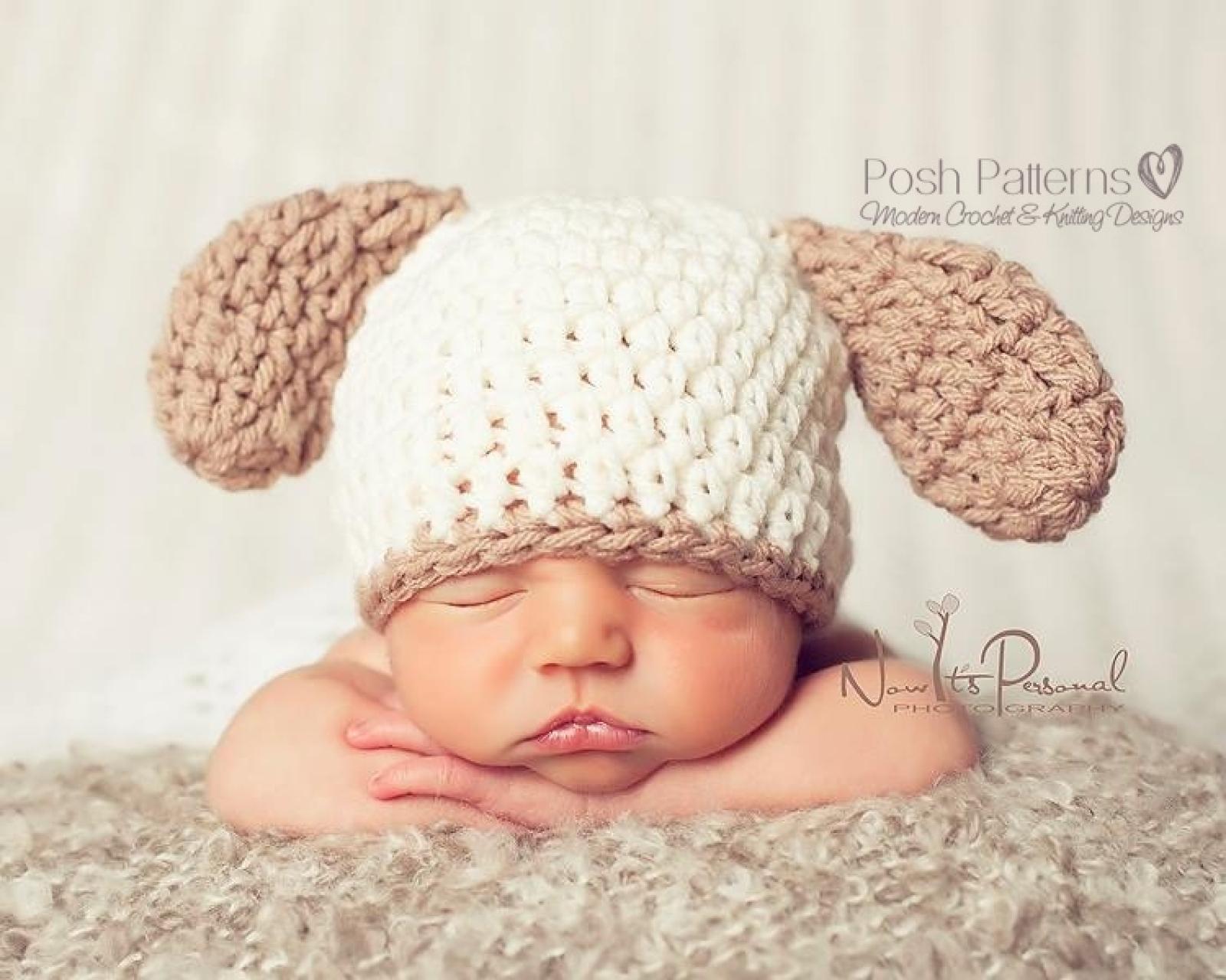 Puppy Dog Hat Crochet Pattern  9b44f871ffc