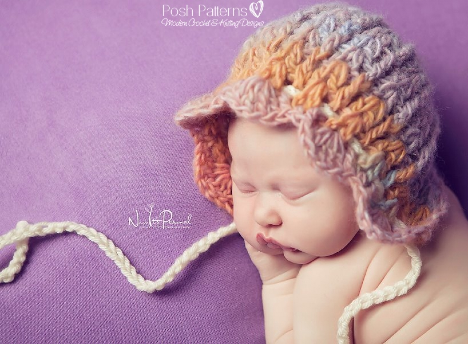 Bonnet Crochet Pattern | Vintage Pixie Hat