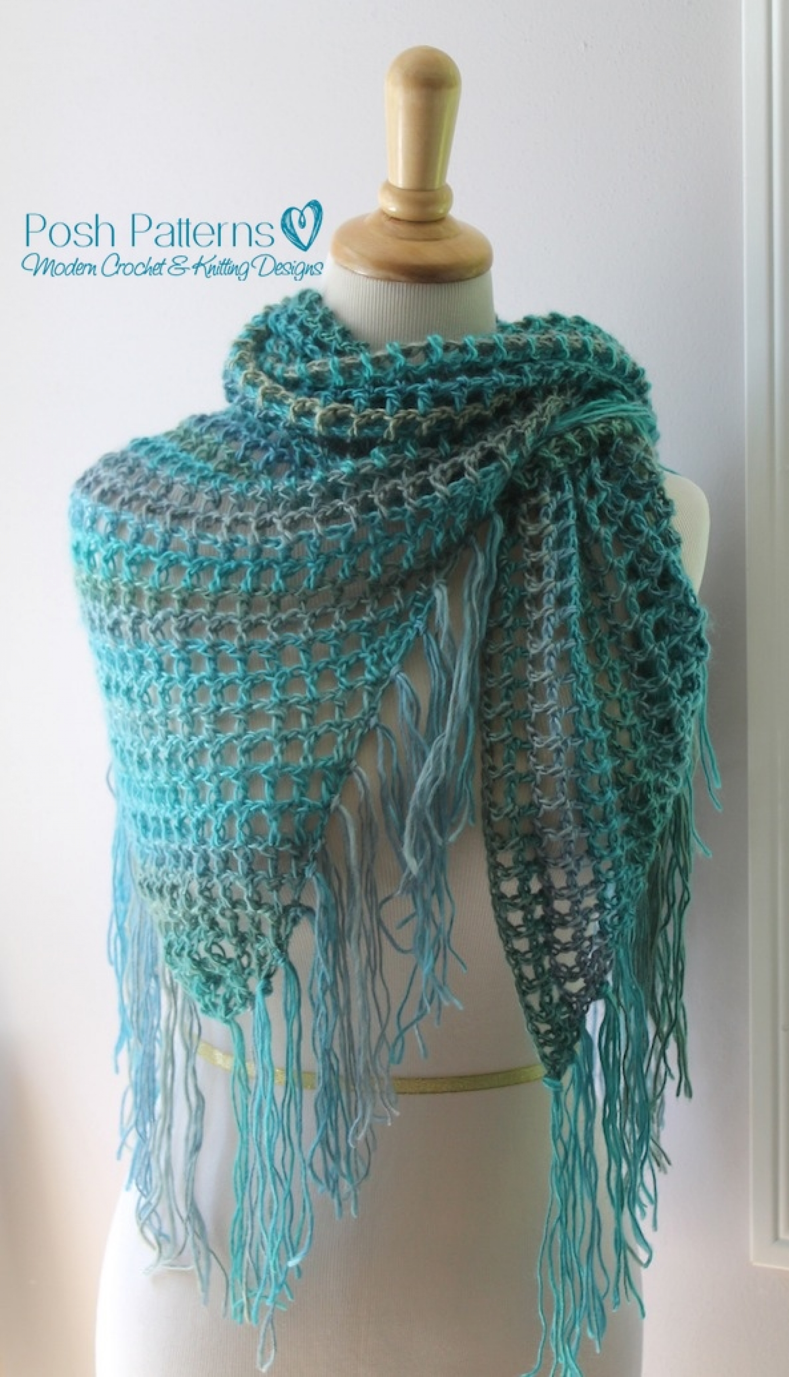 Crochet Shawl Directions