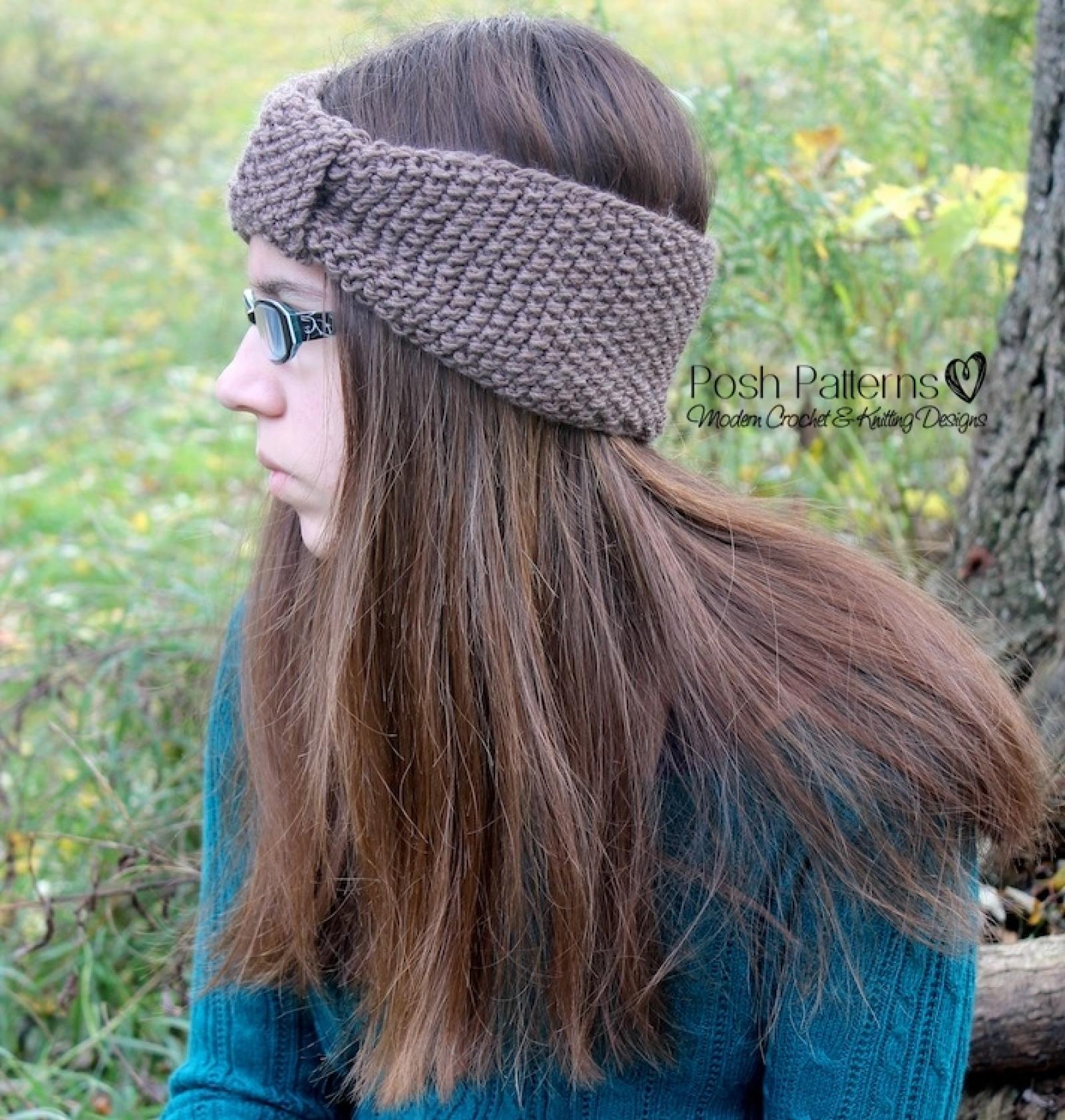 Headband Knitting Pattern - Knit Ear Warmer