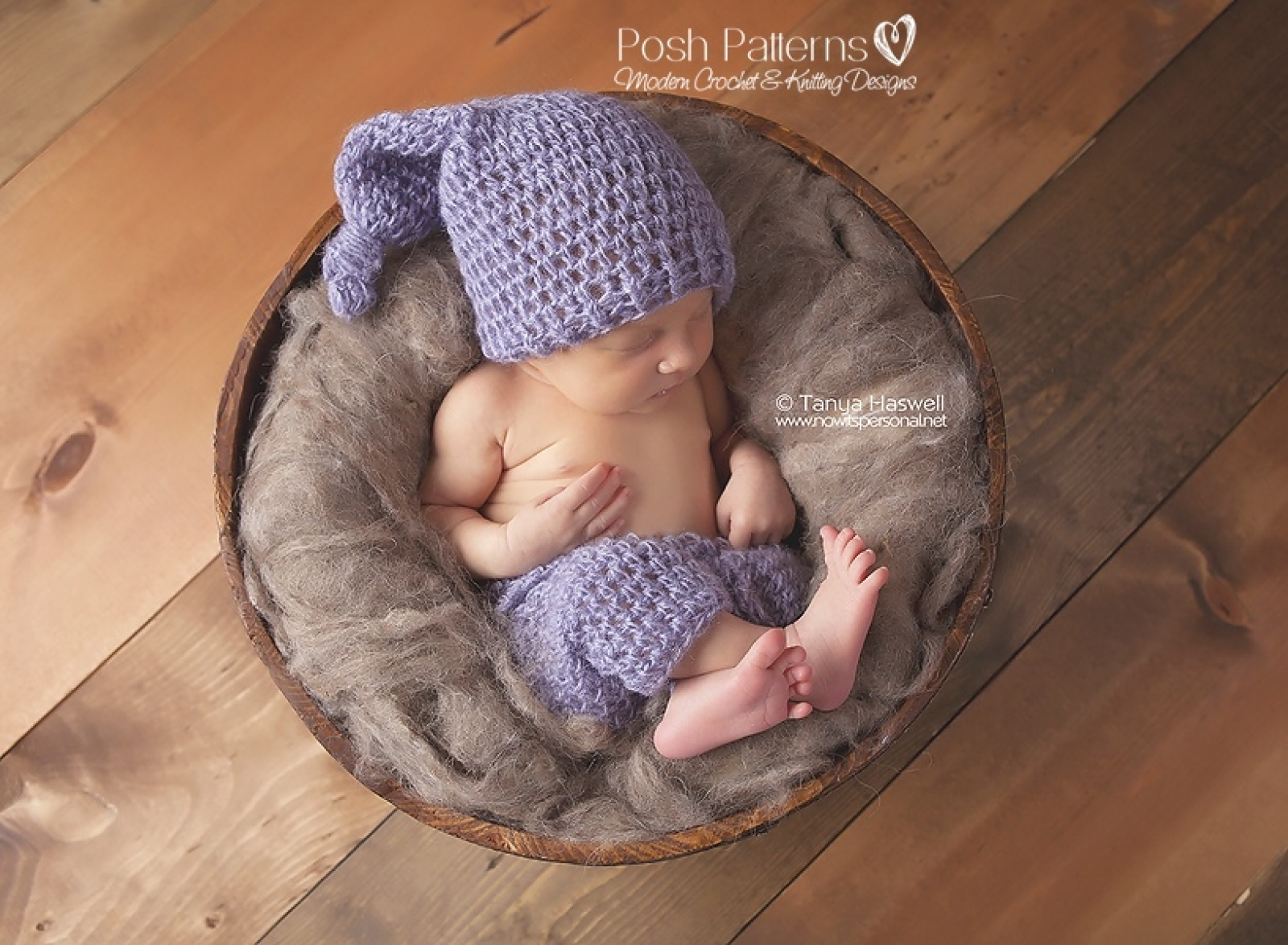 Baby Pants and Top Knot Pixie Hat Crochet Pattern