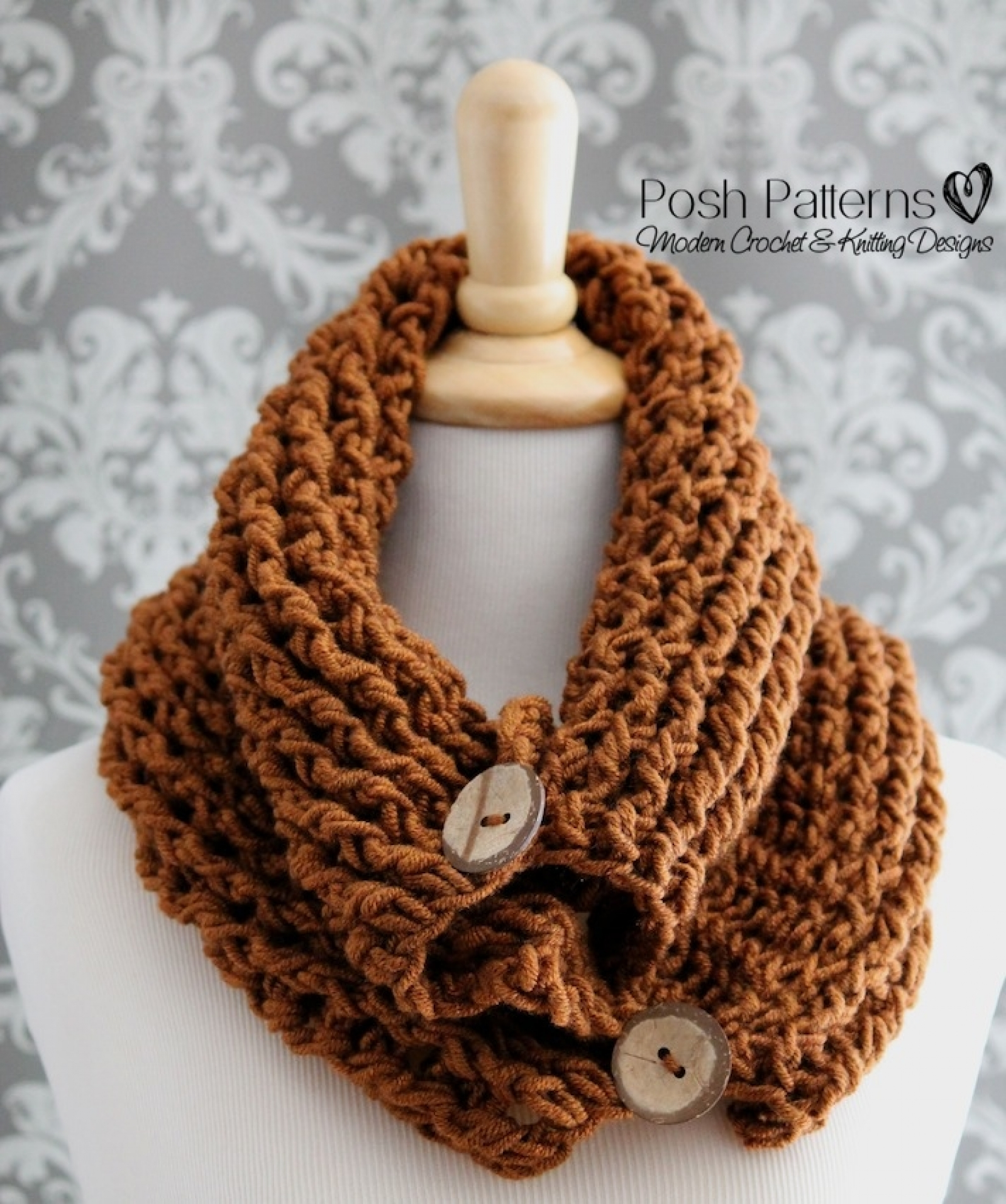 Easy Crochet Cowl Pattern Awesome Decoration