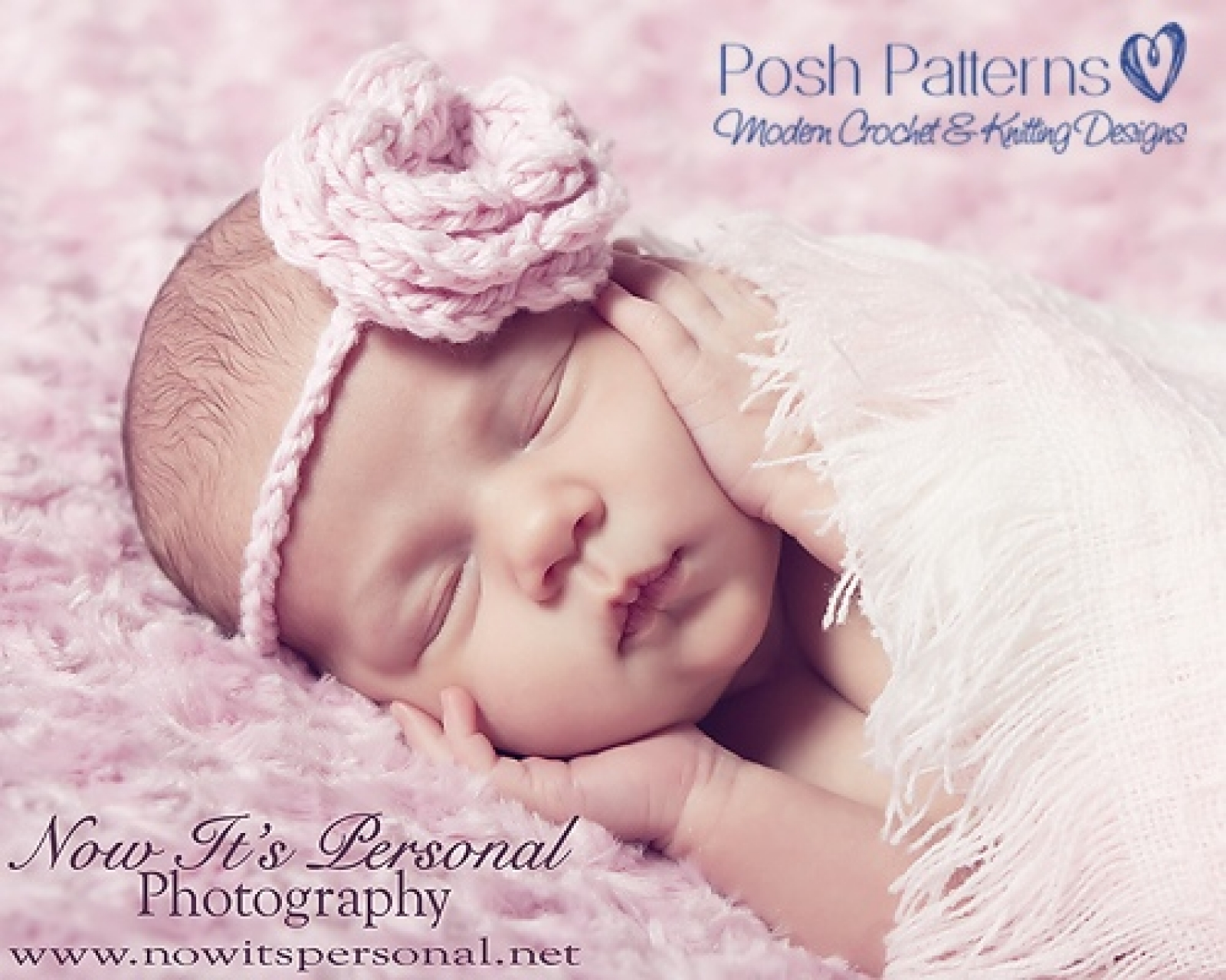 Crochet Flower Headband Pattern - Baby Headband