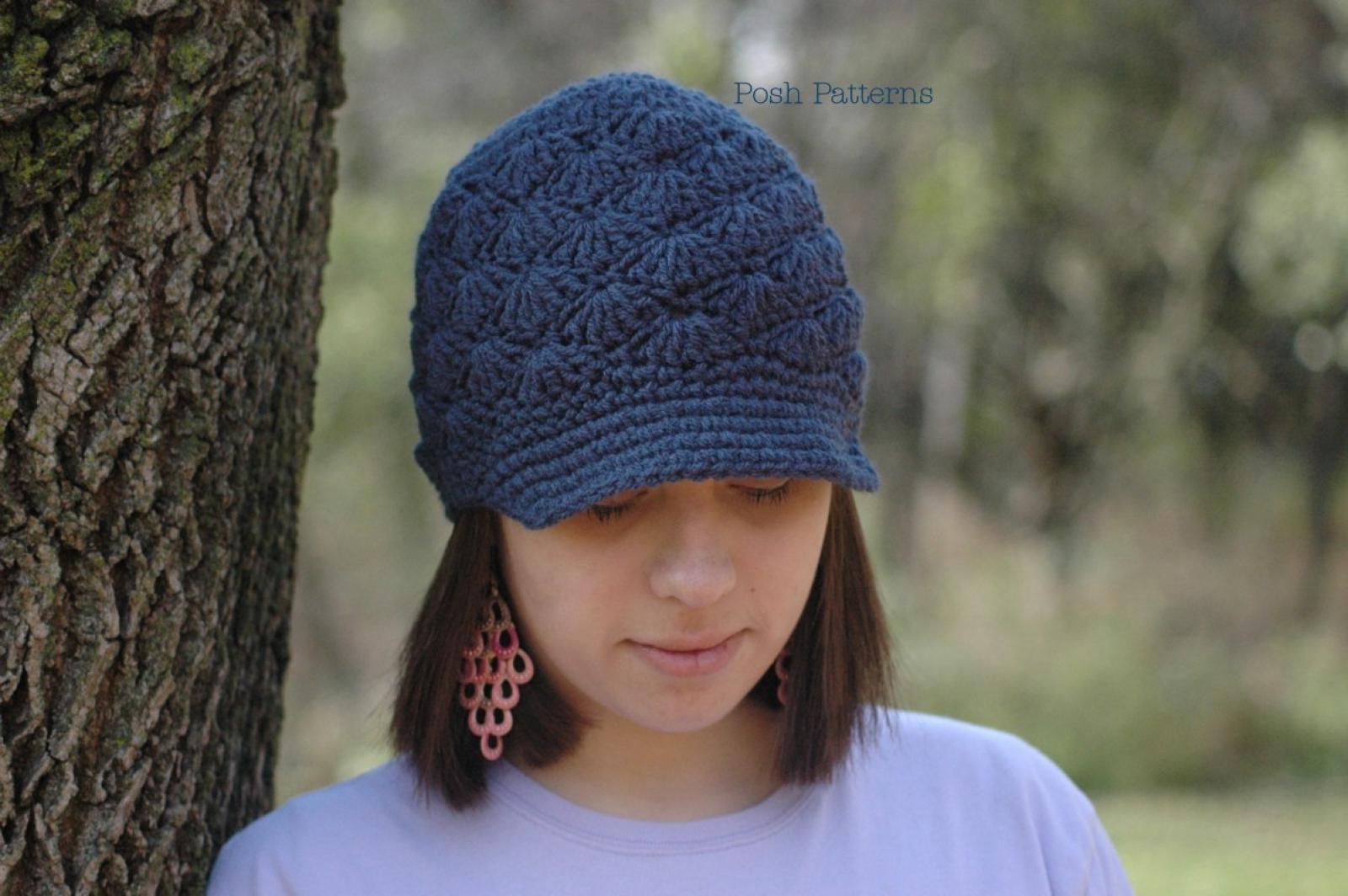 Crochet Hat Pattern Flapper Hat Amp Flower Crochet Pattern