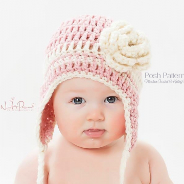 Earflap Hat Crochet Pattern | Easy Crochet Earflap Hat
