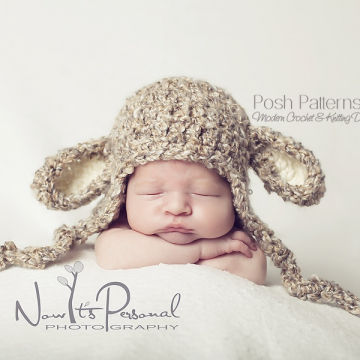 Lamb Hat Crochet Pattern | Lamb Hat Pattern