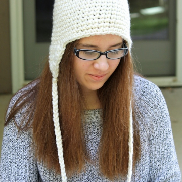 Crochet Earflap Hat Pattern | Crochet Hat Pattern
