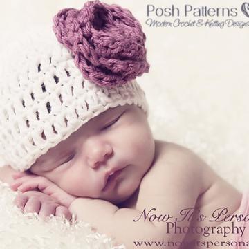 Easy Crochet Hat Pattern | Flowers Leaves Bow Patterns