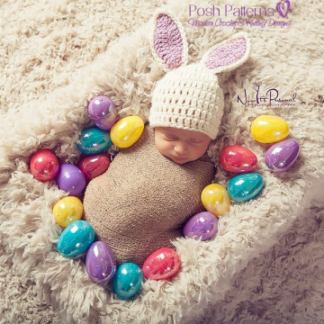 Crochet Bunny Hat Pattern | East Bunny Hat