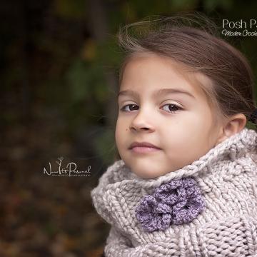 Easy Cowl Knitting Pattern - Knit Scarf Pattern