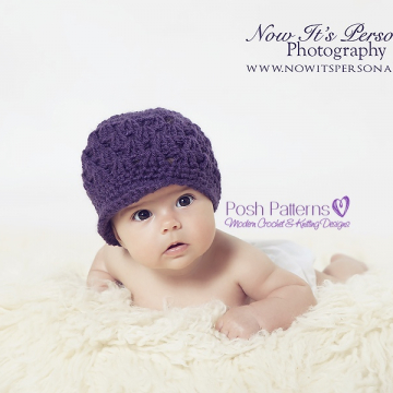 Newsboy Hat Crochet Pattern | Visor Hat Pattern