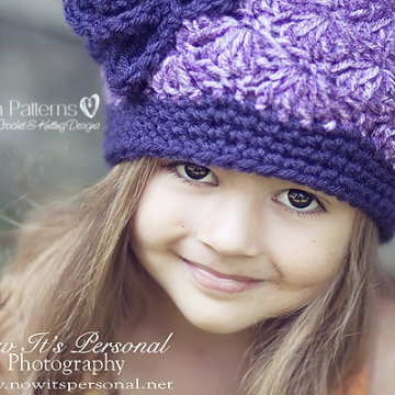 Crochet Hat Pattern - Flapper Hat & Flower Crochet Pattern