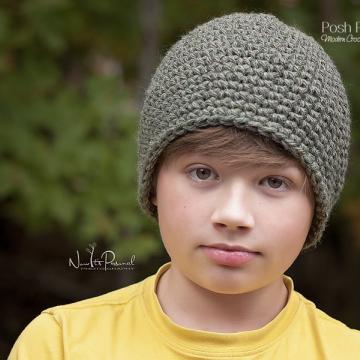 Easy Crochet Hat Pattern - Beanie Crochet Pattern
