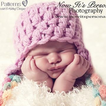 Baby Earflap Hat Crochet Pattern | Crochet Hat Pattern