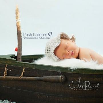 Baby Fishing Hat Crochet Pattern | Sun Hat Pattern