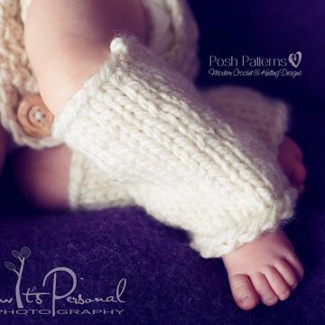 Baby Leg Warmers Knitting Pattern