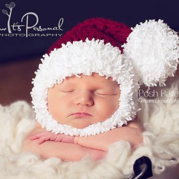 Crochet Santa Hat Pattern - Santa Hat & Beard Pattern