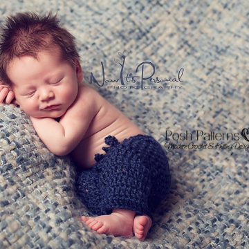 Baby Pants Crochet Pattern | Baby Longies Pattern
