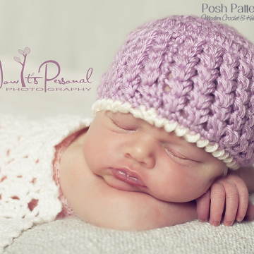 Crochet Pattern Beautiful Beanie | Crochet Hat Pattern