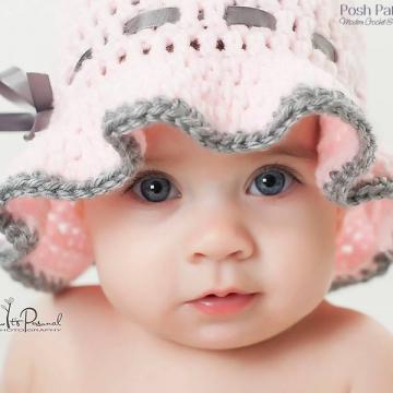 Sun Hat Crochet Pattern - Floppy Brim Crochet Hat Pattern