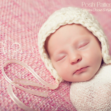 Easy Bonnet Crochet Pattern | Crochet Pixie Hat