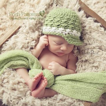 Newsboy Hat Crochet Pattern - Visor Hat Pattern