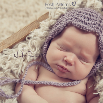 Knitting Pattern Lace Bonnet | Pixie Hat Pattern