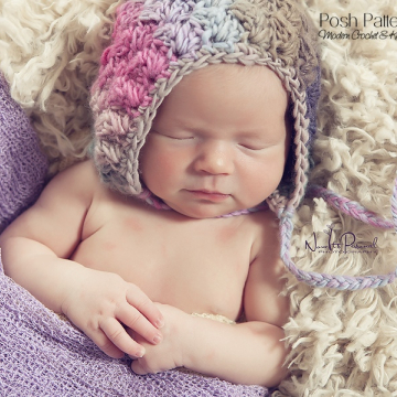 Crochet Bonnet Pattern - Pixie Hat Crochet Pattern
