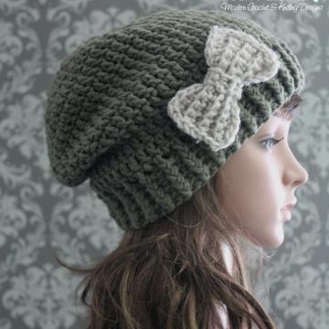 Slouchy Hat Crochet Pattern - Crochet Slouchy Hat