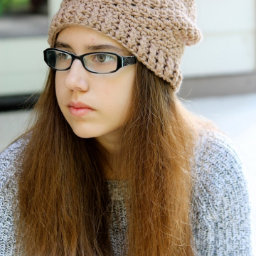 Slouchy Hat Crochet Pattern - Slouchy Hat Pattern