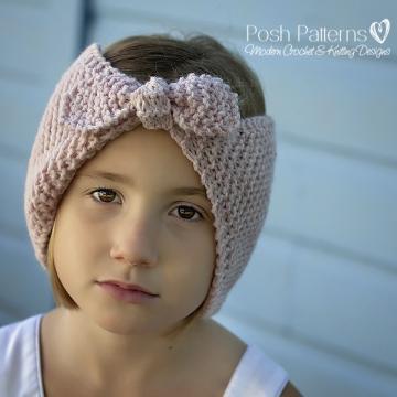 Easy Headband Knitting Pattern - Knit Ear Warmer