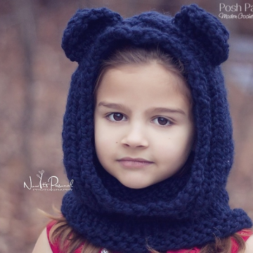 Cowl, Scarf & Hood Crochet Patterns and Knitting Patterns | Posh ...