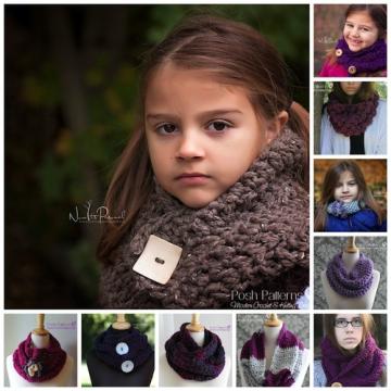 10 Easy Cowl Crochet Patterns