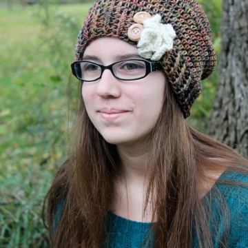 Elegant Crochet Slouchy Hat Pattern