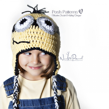 Minion Hat Crochet Pattern